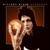 HILLARY BLAZE  - Exposure (1977 metallic sci-fi hard rock private press )  CD