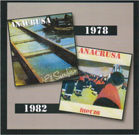 ANACRUSA  -El Sacrificio/Fuerza (Early 70s S American RARITY)  CD