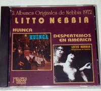 HUINCA  -S/T + LITTO NEBBIA  (1972 rare melodic Argentine prog/psych)   CD