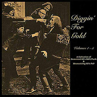 DIGGING FOR GOLD  - VOL  1- 5 (5 CD BOX SET)