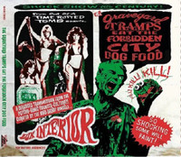 GRAVEYARD TRAMPS EAT THE FORBIDDEN.. - Vol.1 CITY DOGFOOD  obscure rockabilly, surf & R&B tracks) COMP CD