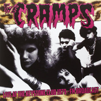 CRAMPS, THE  -LIVE AT THE KEYSTONE CLUB 1979 FM BROADCAST  LP