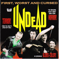 UNDEAD   - First Worst and Cursed- W DEE DEE RAMONE   CD