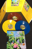 THE THREE SEASONS   -The Spring, Summer And Autumn Of Love  (1967,68 and 69 PSYCH, ACID FOLK AND ROCK) COLOR VINYL TRIPLE  LP -COMP