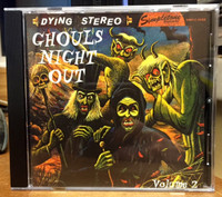 GHOULS NIGHT OUT Vol 2  - Killer Halloween Rockers For Your Thrilling Pleasure-  COMP CD