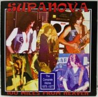 SUPANOVA  -100 MILES FROM HEAVEN (1977 garage)   CD