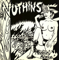 NUTHINS   - Modesty Blaize (UK garage psych)  45 RPM