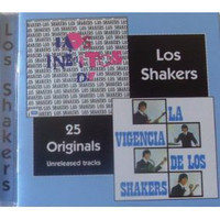 SHAKERS,LOS -- 25 Originals-Unrel. Tracks: Uruguayan 70s Rock-  CD