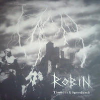 ROBIN  - THUNDER & SPEEDUMB (Japanese punk psychobilly)  CD