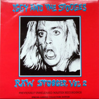 IGGY AND THE STOOGES- RAW STOOGES VOL 2   - Rare unofficial release!LP