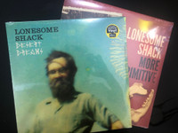 LONESOME SHACK   -BUNDLE w More Primitive & Desert Dreams  (Canned Heat boogie/country blues) GET BOTH LPS!