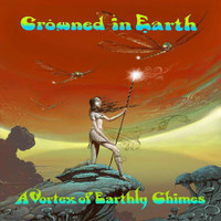 CROWNED IN EARTH  -A VORTEX OF EARTHLY CHIMES (sterling  Italian psych Doom  70s style)CD