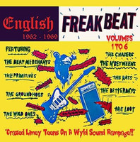 ENGLISH FREAKBEAT 1962-1969   -VOL 1-6 BOX SET! Crazed Limey Teens On A Wyld Sound Rampage!!137 tracks-6 CD+68 page booklet  - COMP CD