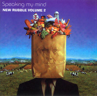 NEW RUBBLE VOL.2: SPEAKING MY MIND (60s prog  psych)  COMP CD