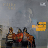 JOHN BASSMAN GROUP  - Filthy Sky (Psych prog Airplane style 1970)LP