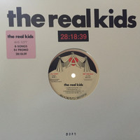 REAL KIDS   -28:18:3- New 8-song DJ Promo Record with Download card-  LP
