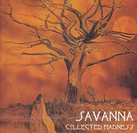 SAVANNA (UK) COLLECTED MADNESS (rare private press psych-folk  1973)  CD