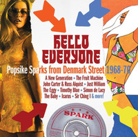 HELLO EVERYONE- POPSIKE SPARKS FROM DENMARK STREET 1968-70- SALE! -  COMP CD