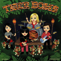 TIGER BOMB   -Uproar (Pandoras style all female garage rock)LP