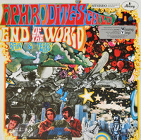 APHRODITE'S CHILD  -End of the World (1968 Greek pop psych) LP