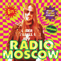 "RADIO MOSCOW-  6 LP  ""BOX "" SET!  - COLOR VINYL & AUTOGRAPH, POSTER, STICKER & BADGE"