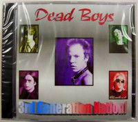 DEAD BOYS -3rd Generation Nation (rare outtakes, liners by Cheetah Chrome)CD