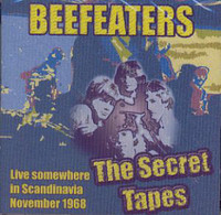 BEEFEATERS   -THE SECRET TAPES (1968 Danish garage legends)CD