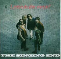 SINGING END   - LISTEN TO THE MUSIC (1971 rare German psych) CD