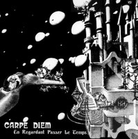 CARPE DIEM    -En Regardent Passer Le Temps (1976 underground French rock rarity) LP