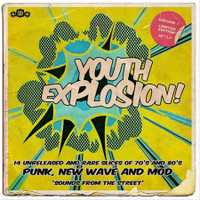 IT'S A YOUTH EXPLOSION! VOL. 1 - 14 RARE AND UNRELEASED TRACKS 1977-1984- COMP  CD