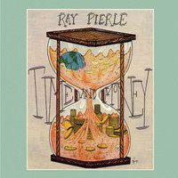 PIERLE RAY   -Time and money (Acid Archive fave 1980 private press heavy guitar)   LP