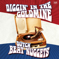 DIGGIN'IN THE GOLDMINE  -DUTCH BEAT NUGGETS( 60s) GATEFOLD  RED  VINYL  DBL COMP LP