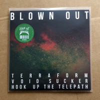 BLOWN OUT/COMACOZER   IN SEARCH OF HIGHS VOL.1 (grand funk psych space lords) GREEN  LP