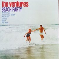 VENTURES   -Beach Party (60s SURF COLLECTION) CD