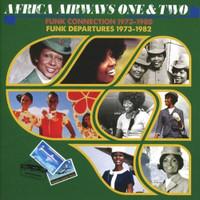 Africa Airways One & Two  -Funk Connecion 1973-80 /Funk Departurures 1973-1982  COMP CD