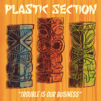 PLASTIC SECTION   - Trouble is Our Business (Raw rockabilly and rhythm n blues voodoo) CD