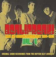 BEATFREAK!   Vol 4  Rare And Obscure British Beat (1964-1969)  COMP CD