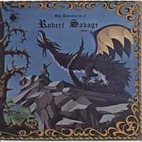 SAVAGE,ROBERT  -THE ADVENTURES OF-VOL.1(OBSCURE HENDRIX STYLE Calif guitar psych)  LP