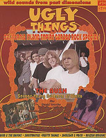 UGLY THINGS  #24 - SOUTHERN CALIFORNIA '60s GARAGE ROCK SPECIAL-  BOOKS & MAGS