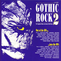 GOTHIC ROCK 2  - The Birth of Gothic Rock 80s and 90s   DBL  COMP CD