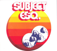 SUBJECT ESQ. -st (1972 fusion prog rock)  CD