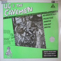 UG & THE CAVEMEN  - 1987 with The Sting Rays, The X-Men, The Vibes, Headcoatees, Earls Of Suave, Purple Things -PLUS DVD- PINK VINYL LP