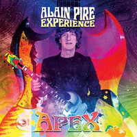 ALAIN PIRE EXPERIENCE  -APEX (THEE neo-psych band from Belgium!) CD