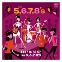 5,6,7,8 S  - BEST HITS OF THE 5.6.7.8'S (Tokyo Female Rockin' Garage Trio!)  LP