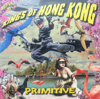 KINGS OF HONG KONG  -PRIMITIVE(Driving,rockabilly garage punk) ORANGE   LP