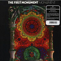 MONUMENT  - First Monument (London 1971  hard rock) BENT CORNER BARGAIN!    LP
