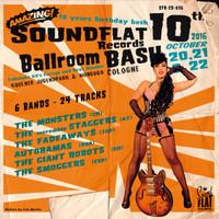 SOUNDFLAT BALLROOM BASH! VOL. 10  -VA( wild garage from annual festival)COMP CD