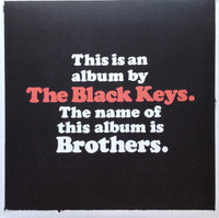 BLACK KEYS   - BROTHERS -POSTER AND  DBL LP