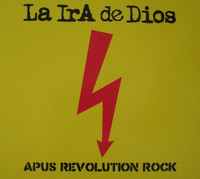 LA IRA DE DIOS  - APUS REVOLUTION ROCK( Peruvian 60s psych/space freaks)CD