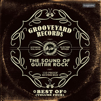 GROOVEYARD RECORDS  - BEST OF  VOL. 4(awesome heavy guitar rocker ) COMP CD